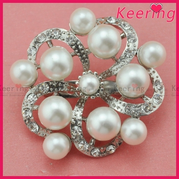Fashion wholesale Good quality China wholesale pearl brooch for women