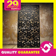 Custom Design Decorative Laser Cut Metal Garden Screens of Steel
