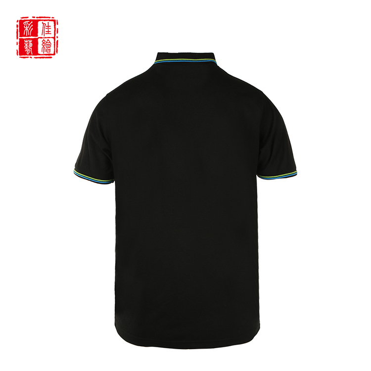 New short sleeve design your own breathable funny golf mens custom polo shirt design