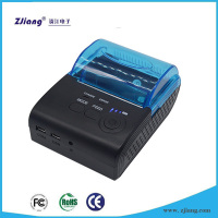 Walmart bluetooth portable mini 58mm mobile wireless printer android for sale zj-5805ld