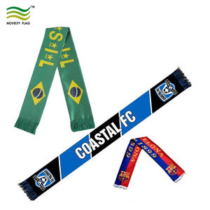 Washable Promotional Fans Sport National Long Scarf