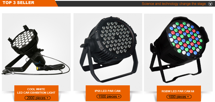 Auditorium illumination 300w IP65 Blinder COB Par