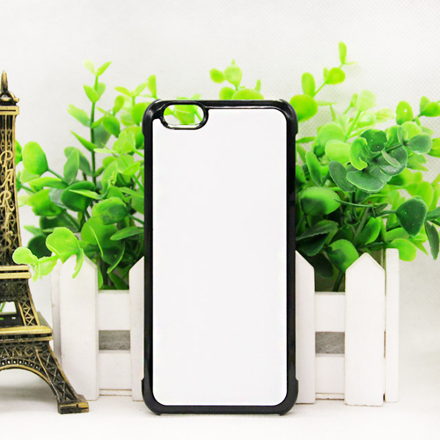 New styles 2D sublimation phone case for iPhone 6/6s with aluminum coating insert
