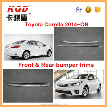 Perfect Design Auto Accessories Toyota Corolla Altis Front / Rear ...