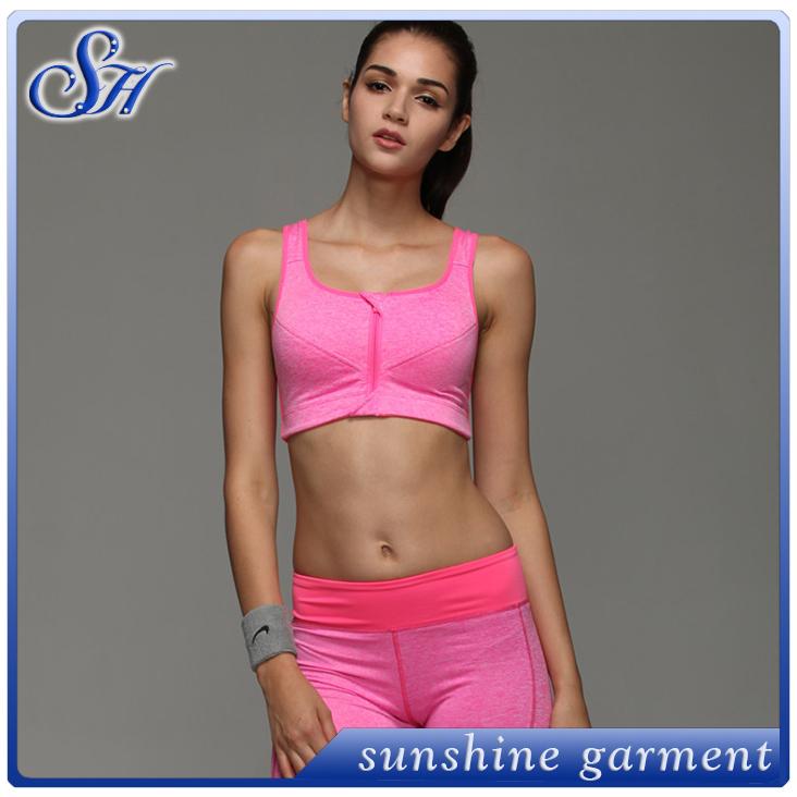 2eef1b5f16 Supplex Runningl Factory Wholesale Custom Factory direct sale Hot Sexy Dry  Fit Ladies Sports Yoga Bra