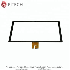 Customize 10.6 Inches Projected Capacitive Touch Sensitive Glass