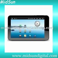 7 inch capacitance touch screen built in 3G and GPS android 2.2 sim card with GSM phone ZT-180 Dual-Coretablet pc mid