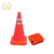 Reflective 900mm foldable  Warning PVC Traffic safety Cone