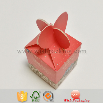 Diamond Box Shaped Paper Packaging Origami For Wedding Party