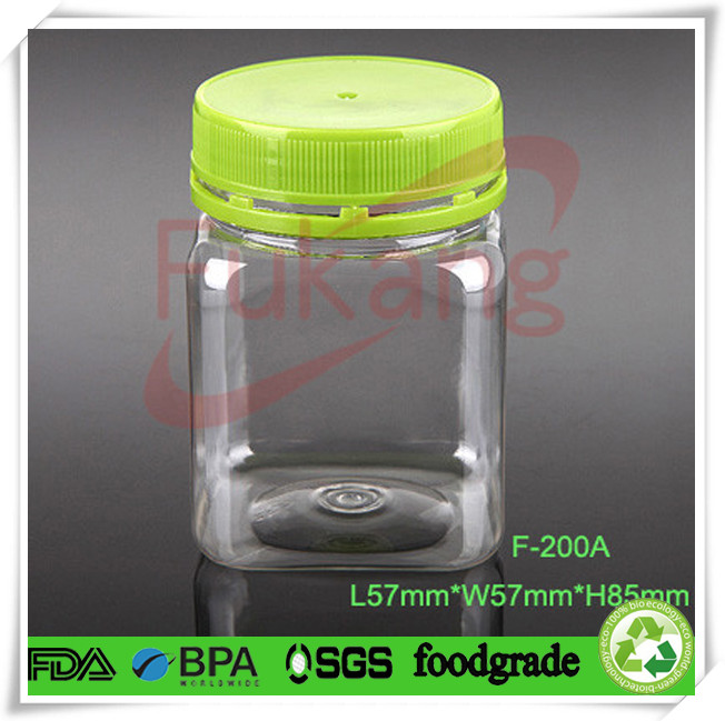 1500ml Food Grade Clear Triangle Plastic Pet Bottle With Cap For ...
