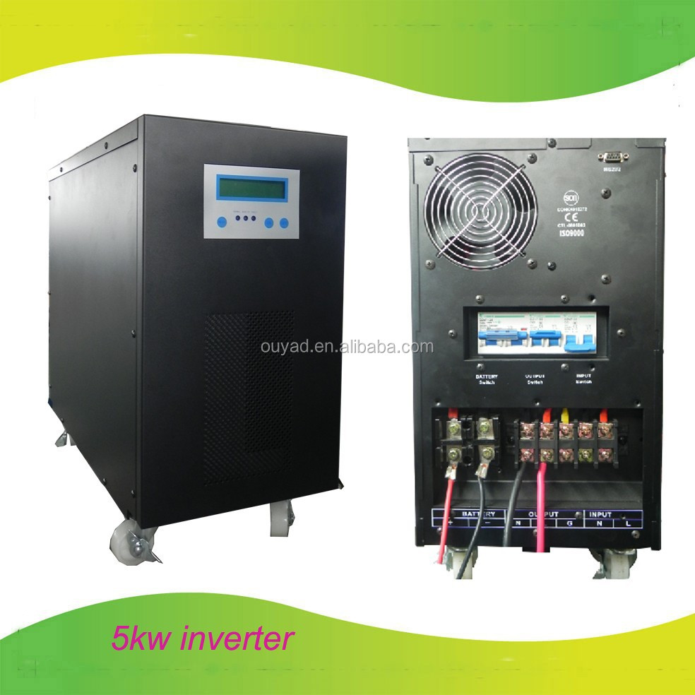 Off Grid Solar Power Inverter For Home Solar Power System 5kva - Buy ...