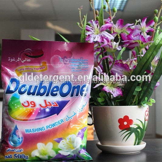 OEM Detergent Powder Personalized Packing Design/washing powder/flower fragrance detergent