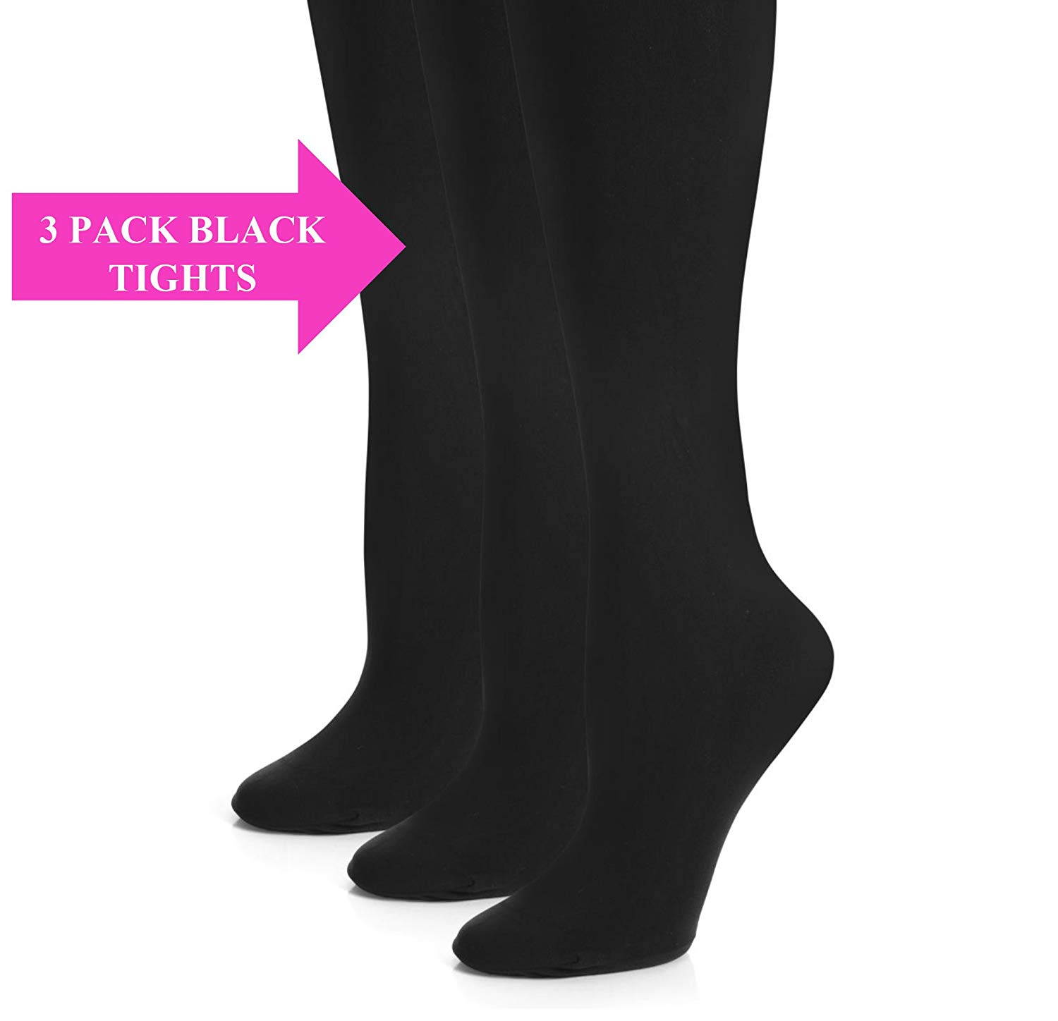 8521fa5dd5a Get Quotations · Girls Tights - Kids Opaque