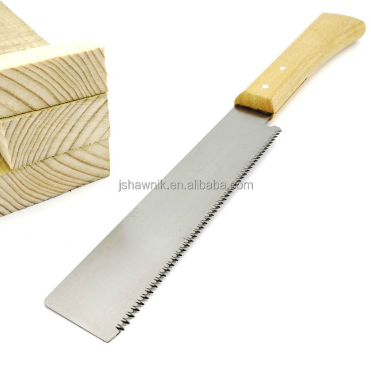 Free shipping Wholesale Wood Working Hand <strong>Saws</strong> Double Sides Steel Slim Tenon Fine Tooth Wood Handle J7XY174