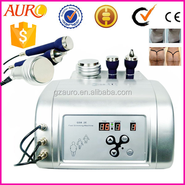 Au-43 Home cellulite machine cavitation gs8.2 / 1mhz supersonic for face lifting