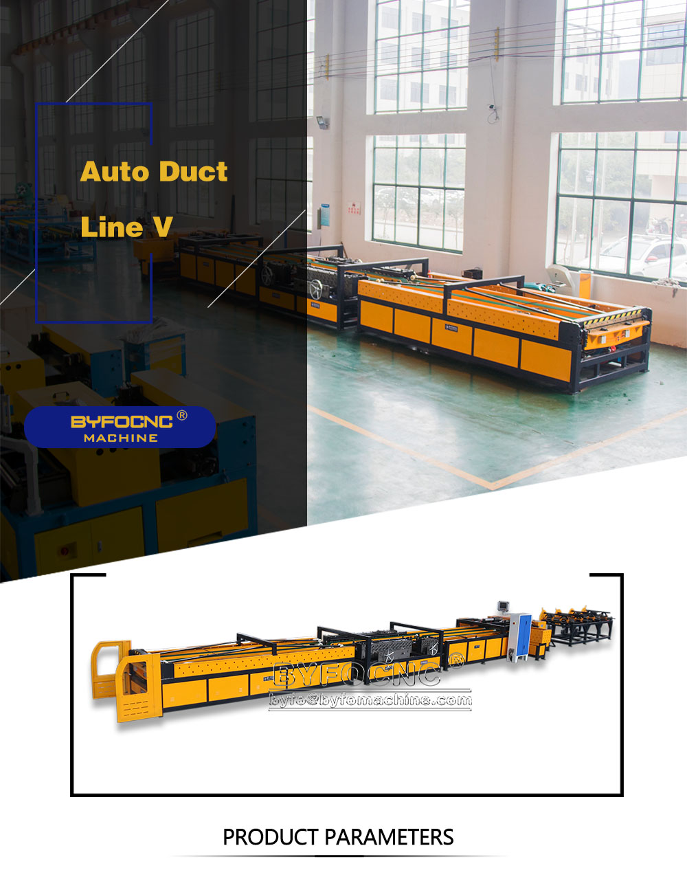 Hvac air duct production line 5