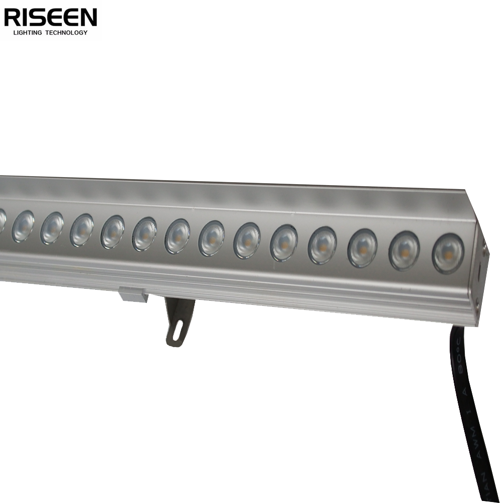 24V high lumen superior outdoor waterproof led rigid strip bar light with baffle