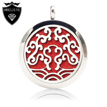 Wholesale New Arrival 30mm Round Silver Diffuser Locket Essential ...