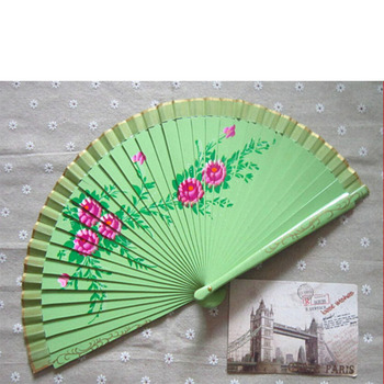 China wholesale manual folding lace hand fan