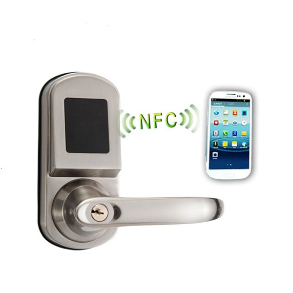 NFC door locks for hotel hotel and hotel key card encoder
