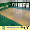Synthetic basketball court floor mats portable badminton court pvc flooring