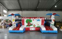 fresh Inflatable fun city for kids,inflatable kids playground