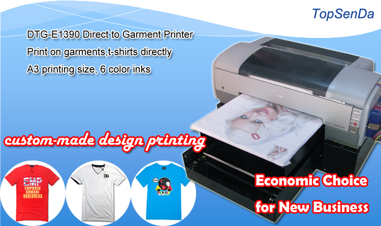 Digital 6 Color Cheap T Shirt Printing Machine Prices In