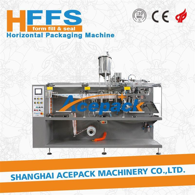 metal polishing paste flexible pouch packing machine for 3/4 side seal bag