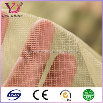 Spandex yarns nylon mesh fabrics