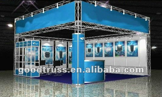 new design aluminum exhibition booth truss system
