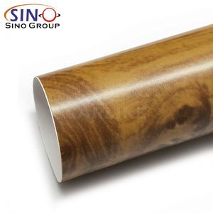 Super Quality Factory Price PVC Vinyl Wood Grain Texture Self Adhesive Film