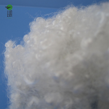 Recycled 15d*64mm polyester staple fiber hollow conjugated with quality assurance