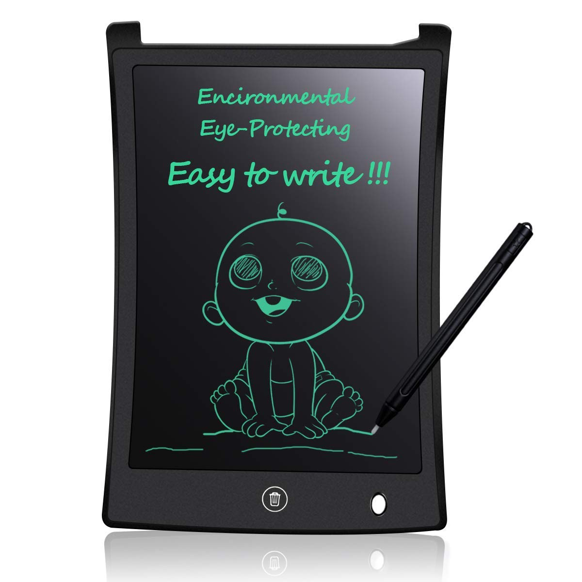 WANGOFUN Smart Writing Tablet Doodle Drawing Board with Bluetooth Electronic Drawing Tablet Graphics Doodle Board Gifts for Kids /& Adults,White