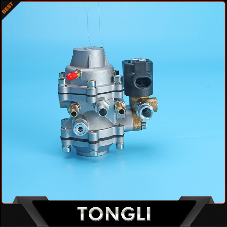 factory price modification Solenoid valve integrated CNG LPG auto pressure regulator