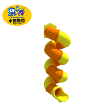 Indoor S line plastic tube slide for kids sale
