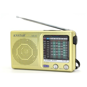 Made in China world band receiver radio portable promotional