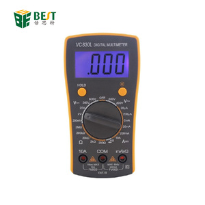 BEST-VC830L Top Quality Break Line Alarm Professional Digital Pocket Multimeter For Cell Phone Repair Tool