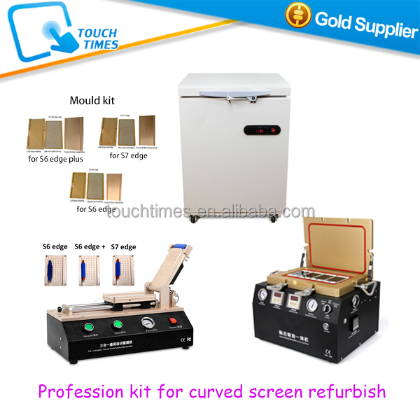 Cell phone repair kit LCD Freezer Separator OCA Lamination machine for iPad Samsung S & Note Series Glass Refurbish
