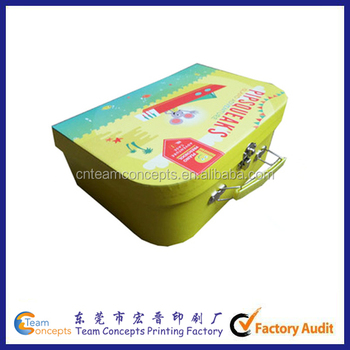 Alibaba Kids Paper Toy Suitcase Box - Buy Toy Suitcase Box,Kids ...