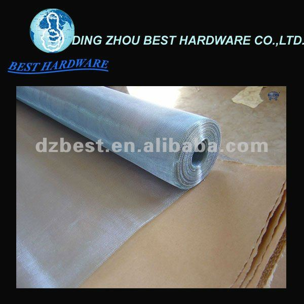 electro galvanized wire window screen various colors