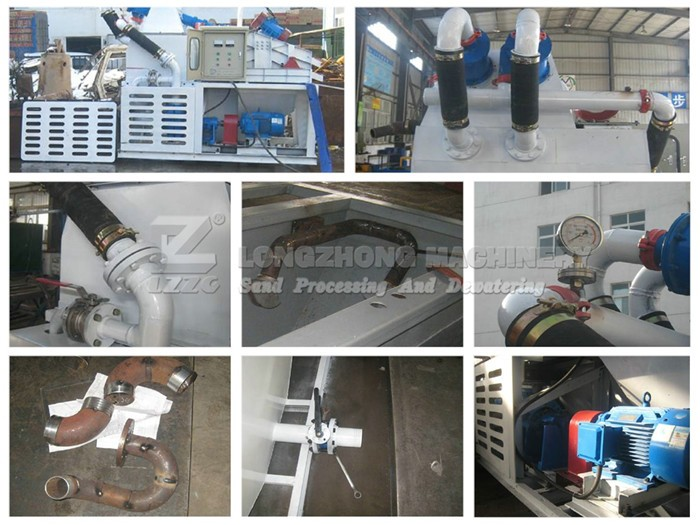 LZZG brand mud sand removing and purifying equipment