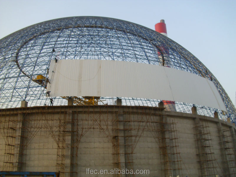 Space frame cement plant for sale