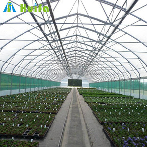plastic sheet greenhouse hydroponics greenhouse with cooling system