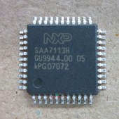 The new decoder chip SAA7113H original spot directly shoot