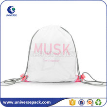 Waterproof nylon drawstring swimsuit bag with customized logo