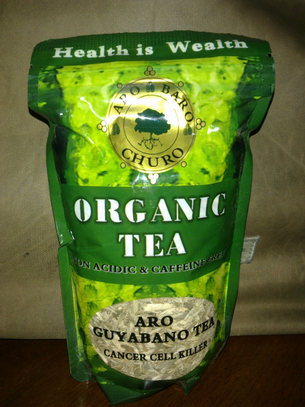 Anti Cancer Soursop Tea From Wild Graviola Tree Leaves,Twigs ...