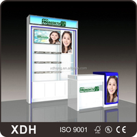 New product portable trade show cosmetic display booth