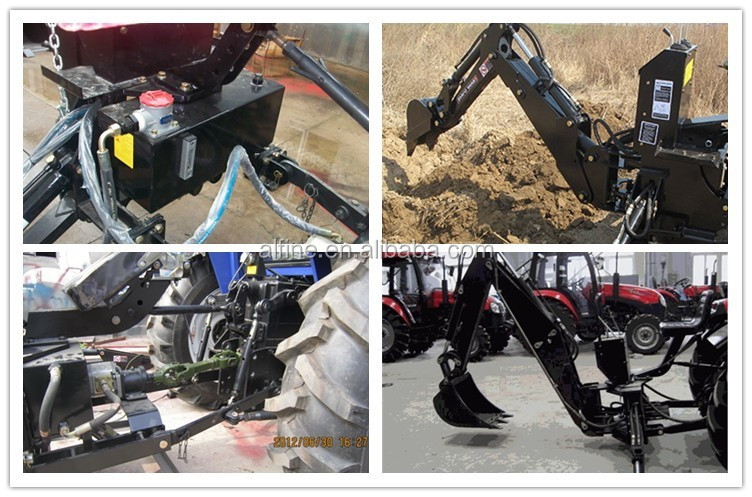 Factory supply high quality cheap backhoe loader