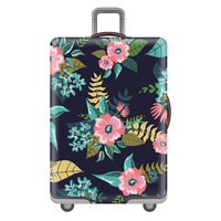 Wholesale Cheap Digital Printing Waterproof Spandex Bag Suitcase Luggage Covers