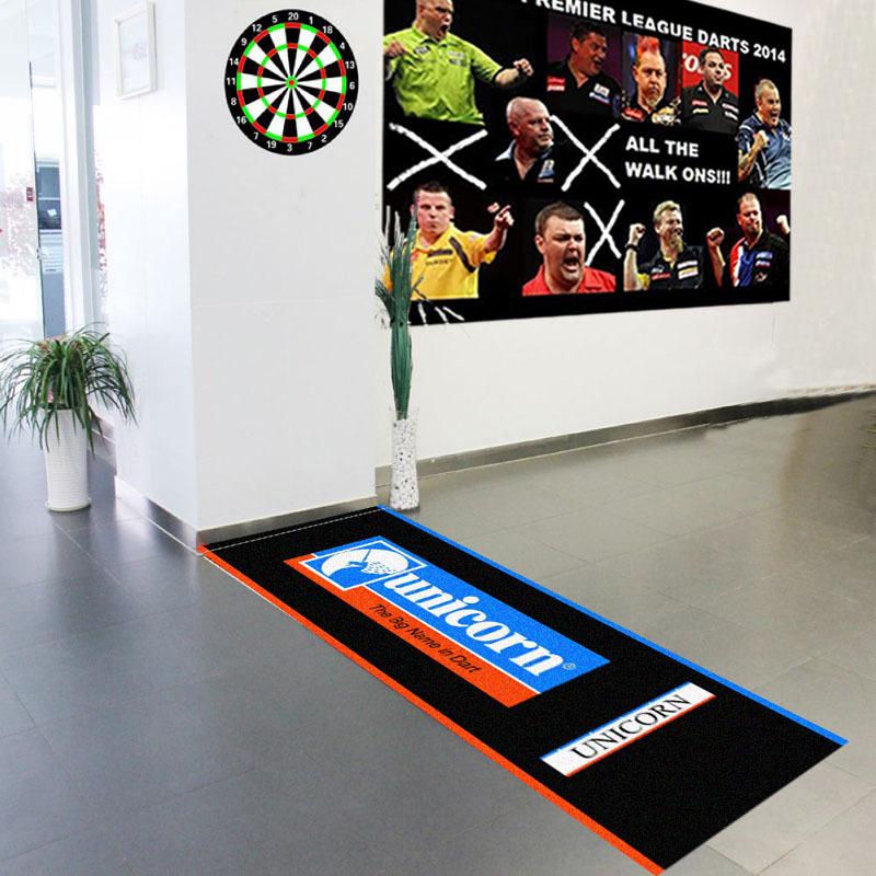 Nylon Polyamide Printed Dart Board Floor Mat Buy Dart